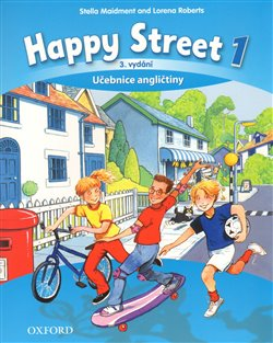 Obálka titulu Happy Street 3rd Edition 1 Class Book CZE