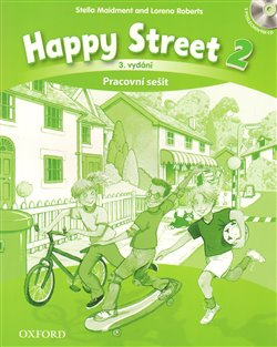 Obálka titulu Happy Street 3rd Edition 2 Activity Book CZE