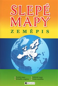 Obálka titulu Slepé mapy Zeměpis