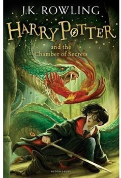 Obálka titulu Harry Potter and the Chamber of Secrets