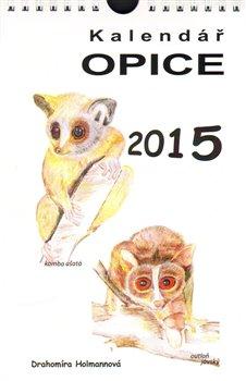 Obálka titulu Kalendář Opice 2015