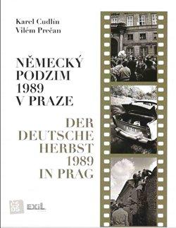 Obálka titulu Německý podzim 1989 v Praze