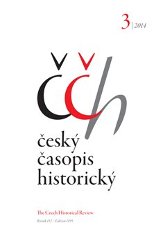 Obálka titulu Český časopis historický 3/2014