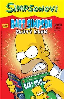 Obálka titulu Bart Simpson 14 (10/2014): Žlutý kluk