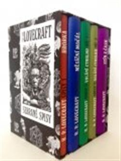 Obálka titulu Sebrané spisy H. P. Lovecrafta BOX