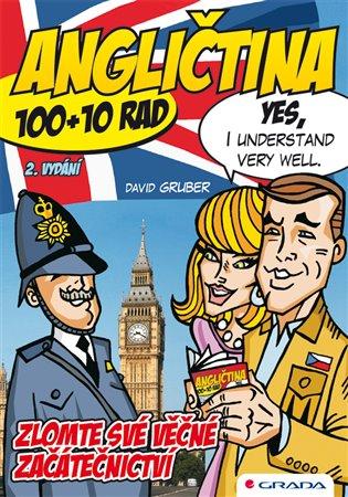 Angličtina – zlomte své věčné začátečnictví:100+10 jednoduchých rad, jak na angličtinu efektivně a bez stresu - 2. vydání - David Gruber   Booksquad.ink