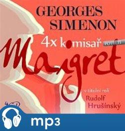 Obálka titulu 4x komisař Maigret