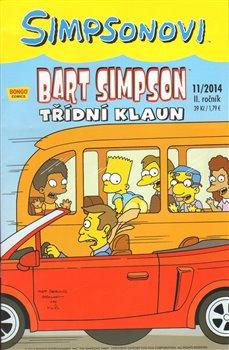 Obálka titulu Bart Simpson 15 (11/2014): Třídní klaun