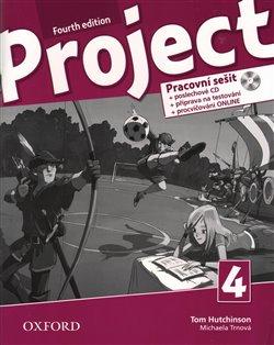 Obálka titulu Project 4 Fourth Edition  Pracovní sešit s poslechovým CD a přípravou na testování