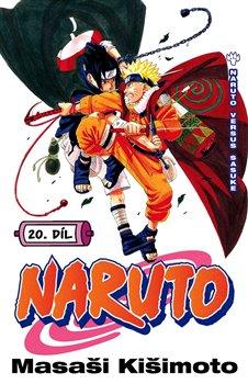 Obálka titulu Naruto 20: Naruto vs. Sasuke
