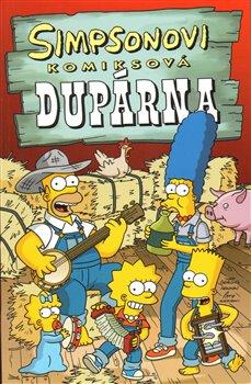 Obálka titulu Simpsonovi: Komiksová dupárna