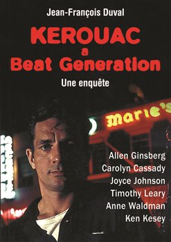 Obálka titulu Kerouac a beat generation