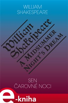 Obálka titulu Sen čarovné noci / A Midsummer Night's Dream