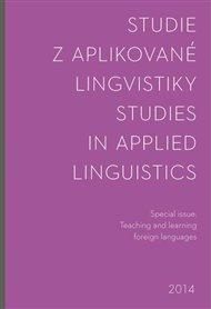 Studie z aplikované lingvistiky 2014 -special