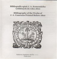 Bibliografie spisů J. A. Komenského vytištěných do r. 1800