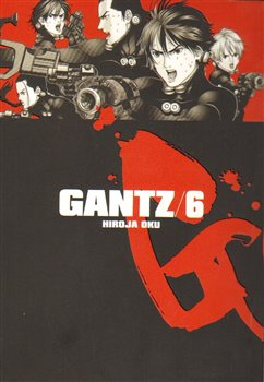 Obálka titulu Gantz 6