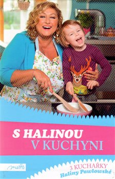 Obálka titulu S Halinou v kuchyni BOX