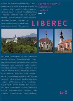 Obálka titulu Soupis nemovitých kulturních památek – okres Liberec – Lu-Ž