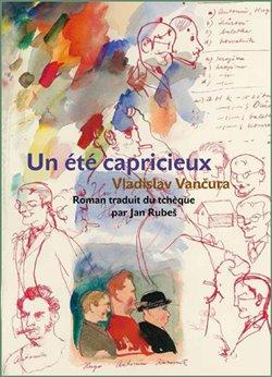 Obálka titulu Un été capricieux (Rozmarné léto francouzsky)