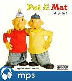 Obálka titulu Pat a Mat… a je to!