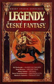 Obálka titulu Legendy české fantasy II.