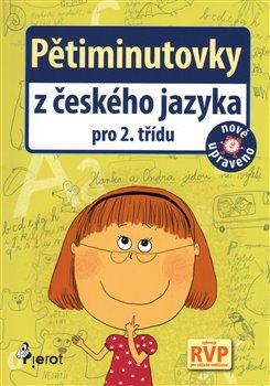 Obálka titulu Pětiminutovky z českého jazyky pro 2. třídu