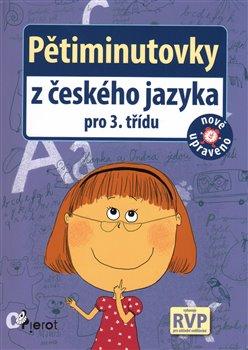 Obálka titulu Pětiminutovky z českého jazyky pro 3. třídu