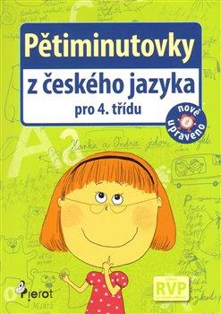 Obálka titulu Pětiminutovky z českého jazyky pro 4. třídu