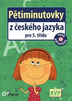 Obálka titulu Pětiminutovky z českého jazyky pro 5. třídu
