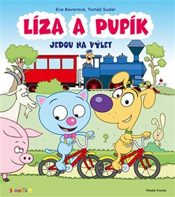Obálka titulu Líza a Pupík jedou na výlet