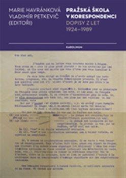 Obálka titulu Pražská škola v korespondenci