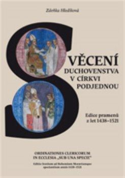 "Obálka titulu Svěcení duchovenstva v církvi podjednou / Ordinationes Clericorum In Ecclesia ""Sub Una Specie"""