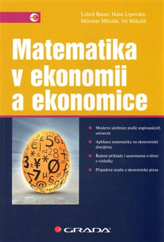 Obálka titulu Matematika v ekonomii a ekonomice