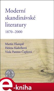 Obálka titulu Moderní skandinávské literatury 1870-2000
