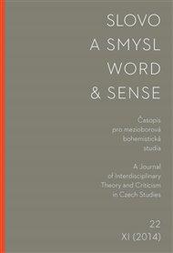Slovo a smysl 22 / Word & Sense 22