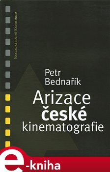 Obálka titulu Arizace české kinematografie