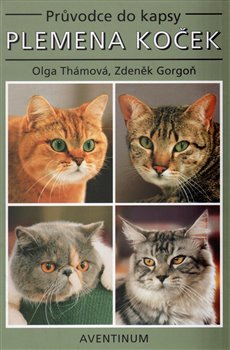 Obálka titulu Plemena koček