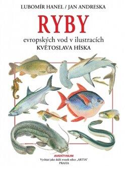 Obálka titulu Ryby evropských vod v ilustracích Kvetoslava Hísla