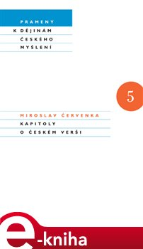 Obálka titulu Kapitoly o českém verši