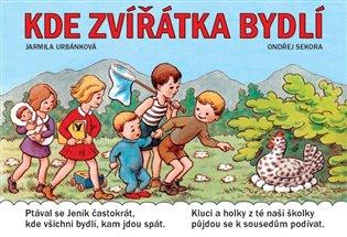 Kde zvířátka bydlí - Ondřej Sekora, | Booksquad.ink