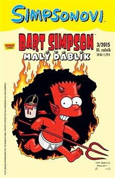 Obálka titulu Bart Simpson 3/2015: Malý ďáblík