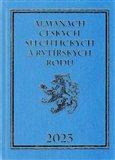 Obálka knihy Almanach českých šlechtických a rytířských rodů 2023