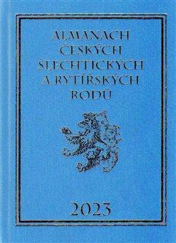Obálka titulu Almanach českých šlechtických a rytířských rodů 2023