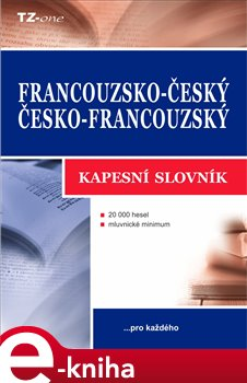 Obálka titulu Francouzsko-český / česko-francouzský kapesní slovník