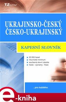 Obálka titulu Ukrajinsko-český / česko-ukrajinský kapesní slovník