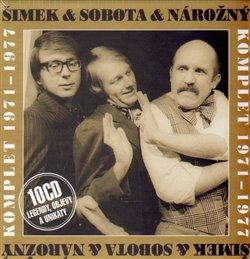 Obálka titulu Šimek & Sobota & Nárožný Komplet 1971-1977