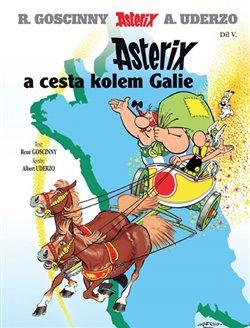 Obálka titulu Asterix (05.) a cesta kolem Galie