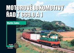 Obálka titulu Motorové lokomotivy řad T 669.0 a 1
