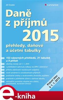 Obálka titulu Daně z příjmů 2015