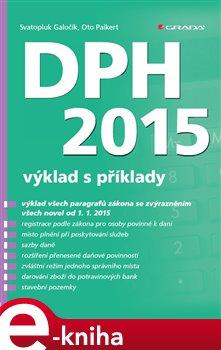 Obálka titulu DPH 2015